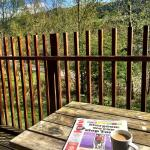 Balcony - Forest Holidays Strathyre, Scotland Photo