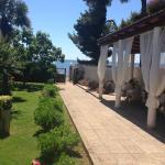 patio ed accesso al mare