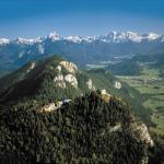 Der Falkenstein mit Burghotel und Schloßruine