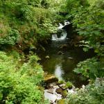 Waterfall in Betws Garmon - a 5 minute walk away