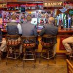 Beautiful bar, wonderful bartenders. Great Beer selection