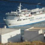 The  Express Skopelitis arriving