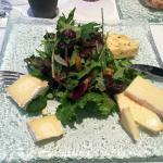 l'assiette de fromage