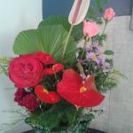Arranjo de flores locais em MOMENTOS ESPECIAIS