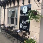 Traditional vintage tea room