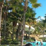 Coqui Water Park, view from the backside.
