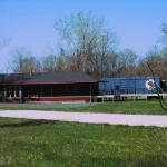 Pere Marquette Train Depot and Chessie Boxcar