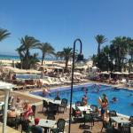 Zona de playa piscina