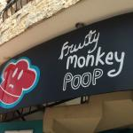 Fruity Monkey Poop