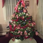 Front tree ready for 4th of July