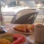 Desayuno con excelentes vistas...