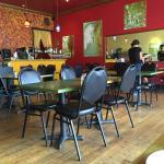 Zayna Mediterranean Dining Area