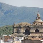 Вид собора с обзорной площадки арабских бань