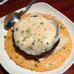 Crab Stuffed Portabella