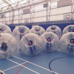 Bay Bubble Football Photo