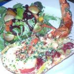 Excellent lobster