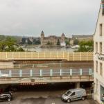 Вид из окна на Рейн