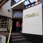 Entrance to TGI Friday's