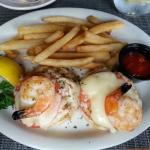 tuna melt with shrimp
