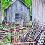 Shed & saw horses