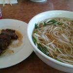 Pho with Grilled Beef