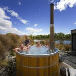 Treat yourself to a soak in the Hot Tubs