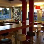 Very nice modern eating area!