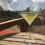 Crisp Cucumber Martini on Our Outdoor Summer Patio