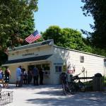 Cannonball Ice Cream shop