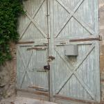 The door to the house