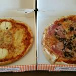 pizza ovales aux 5 fromages et reine