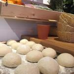 THE PITAS BREAD ARE MADE ON SITE FRESH AND WARM