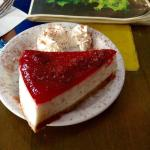 Cheese cake which is not cheese cake at all