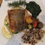 Fish special dishes at Sophia's
