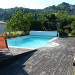 La piscine à 30 m de la terrasse