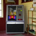 CD Juke Box in the large entrance room leading to the lobby.