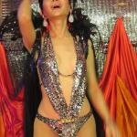 Ladyboy cabaret show at the hotel