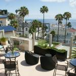 Enjoy breakfast or a glass of wine on our ocean view rooftop deck