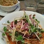 """Chicken """"A la Basque"""" main course"""