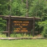 American Legion and Peoples State Forests