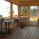 Lovely covered porch
