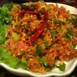 Fried Rice ball salad