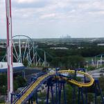 Carowinds is 2 exits away 8 Miniutes
