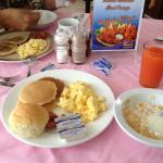 Desayuno Hotel Aramo