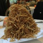 the plate of 1000 fries