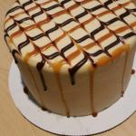 My husband bought this yummy salted caramel cake for my birthday. Its moist and sweet. If you lo