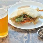 sandwich with shapiro beer