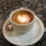 Fantastico caffé preparato al bar dell'Hotel