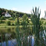 Promenade autour des étangs au pied de l'établissement