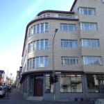 The main entrance to Centrehotel Klopp